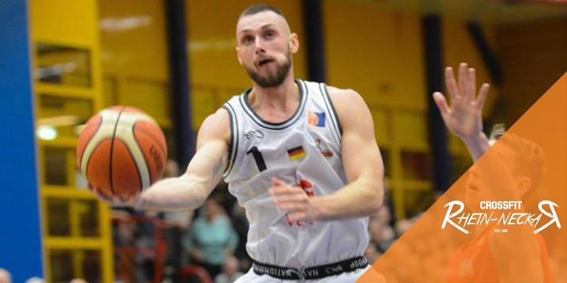 Eric curth Basketball Spieler PSK Lions CrossFit Rhein-Neckar