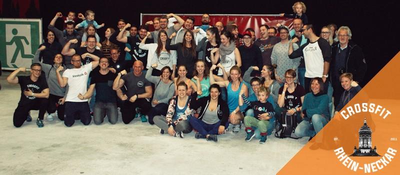 Das Team CrossFit Rhein-Neckar qualifizierte sich für das Finale vom CrossFit Wettkampf German Throwdown in Mainz
