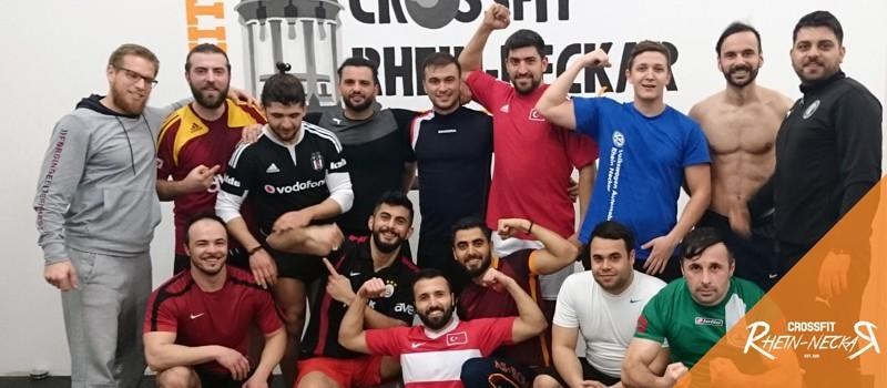 CrossFit als Vorbereitung für PSV Mannheim Fußball
